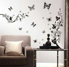 Good Wall Stickers Wall Decals Flowers Home Decor Quotes PVC Wall Stickers
