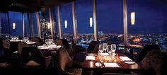 Aqua Shard...enjoy dinner with a view of London 31 floors up the shard. http://www.albertalagrup.com/