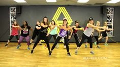 """I'm All Yours"" Jay Sean and Pitbull video, Cardio Dance Fitness by REFI..."