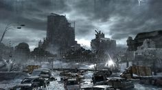 frozen apocalypse city
