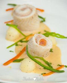 Scholrolletjes met Champagnesaus Diner Recipes, Dutch Recipes, Fish Recipes, Cooking Recipes, Healthy Recipes, Belgian Food, Dinner Side Dishes, Good Food, Yummy Food