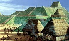 Did a megaflood kill off America's first metropolis? Mississippi River and NOT droughts to blame for demise of Cahokia Ancient Mysteries, 11th Century, Lost City, Lake Michigan, Wisconsin, Ancient History, Ancient Aliens, Science Nature, Museums