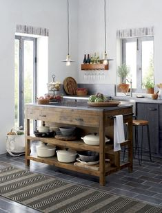 44+ wonderful ideas to design your rustic kitchen (42) #kitchenidea #homedecor