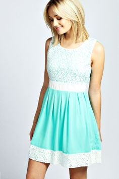 Gorgeous Lace Dress For Spring