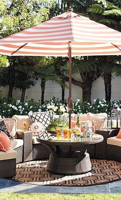(Porch Furniture)Pasadena Outdoor Sofa Set - Sand with Canvas Piping - Frontgate, Patio Furniture Frontgate Outdoor Furniture, Outdoor Decor, Outdoor Ideas, Porch Furniture, French Furniture, Outdoor Fun, Furniture Ideas, Outdoor Living Areas, Outdoor Spaces