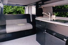 Sportsmobile Custom Camper Vans - Sportsmobile RB-55M