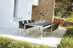 Outdoor Dining Table For The Whole Family Luxury Garden Furniture Wicker