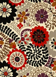Fab Outdoor Fabrics - Nova Floral Passion