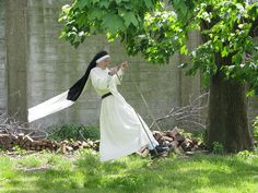 Dominican Nuns of Summit, NJ Nuns love to swing