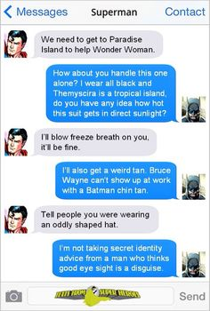 Don't knock the glasses, Bruce. If they work, then it's all good. ;P