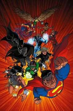#Justice #League #Of #America #Fan #Art. (Justice League of Åmerica #2 Cover) By: Michael Turner. (THE * 5 * STÅR * ÅWARD * OF: * AW YEAH, IT'S MAJOR ÅWESOMENESS!!!™)[THANK Ü 4 PINNING!!!<·><]<©>ÅÅÅ+(OB4E)