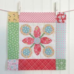 Bee In My Bonnet: BLOOM Sew Along - Week 19 - Block 19!!!