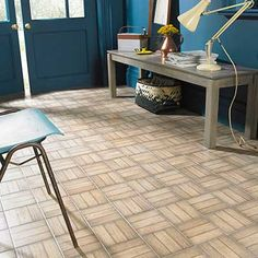 The multi-use porcelain Ted Baker ParqTile comes together to form a classic parquet effect for use on walls or floors, indoors or out. The traditional brown x tiles are finished with an authentic grain effect giving you the versati. Decorative Wall Tiles, Mosaic Wall Tiles, Wall And Floor Tiles, Vinyl Tiles, Vinyl Flooring, Brick Face, Wood Effect Tiles, Traditional Tile, Tile Trim