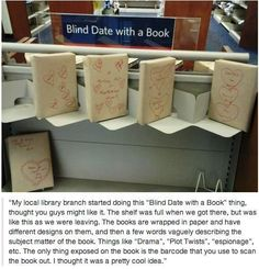 ATTENTION LIBRARIANS!  I saw this on a Facebook share and thought it was the coolest idea.