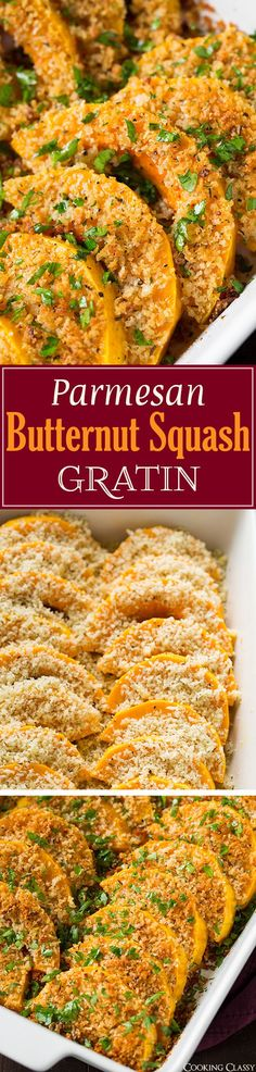 The perfect Thanksgiving side using butternut squash