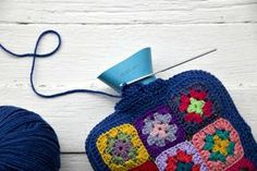 Final steps to making a granny hot water bottle cover. Links to earlier steps on blog.