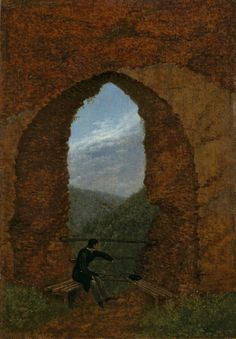 Carl GustavCarus(Leipzig 1789 – 1869 Dresden, Germany)  View, 1818