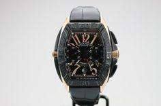 Franck Muller Conquistador Grand Prix Chronograph. List price: $27700
