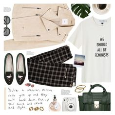 """you're a warrior"" by valentino-lover ❤ liked on Polyvore featuring MANGO, Fujifilm, 3.1 Phillip Lim, Miu Miu, Valentino and Warehouse"