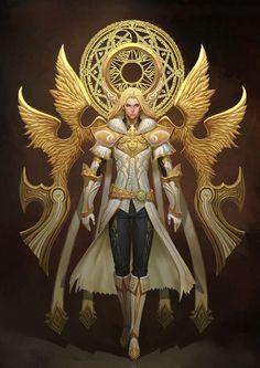 Shou # ™ Collected to God _ Petal Illustrator / Comics Fantasy Male, Fantasy Armor, Anime Fantasy, Fantasy World, Dark Fantasy, Fantasy Character Design, Character Concept, Character Inspiration, Character Art
