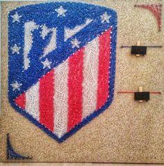 String art Atletico Madrid