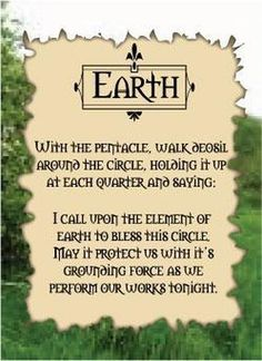 ✯ Earth ✯protect spell magical working