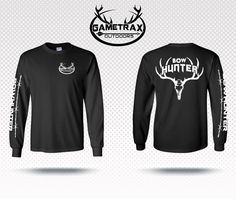 Gametrax Outdoors Bowhunting long sleeve t shirt,bowhunter,compound bow,deer