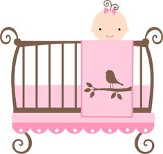 baby clipart girl cute pink baby carriage free clip art family rh pinterest com clipart baby girl shower baby girl clipart png