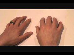 Jednoduchá cvičení prstů pro rozvoj jemné motoriky a přípravu na psaní - videonávod.