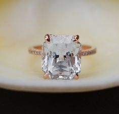 10ct Engagement ring. Celebrity engagement rings. by EidelPrecious