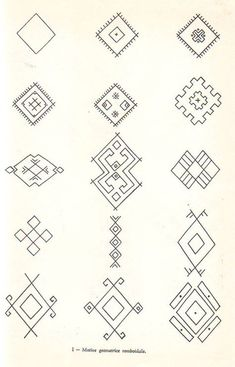 Embroidery Tools, Folk Embroidery, Hand Embroidery Designs, Embroidery Patterns, Ancient Symbols, Ancient Art, Romanian Lace, Foto Transfer, Art Costume