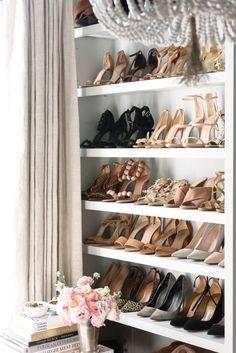 Shoe closet goals.