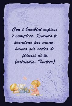 Frasi bellissime per Bambini - Passione Folle