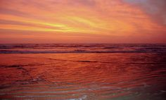 An amazing sunrise over the Gulf of Mexico at Padre Island National Seashore. Photo by Lee McDowell, NPS.