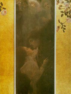 Gustav Klimt, Love (1895)