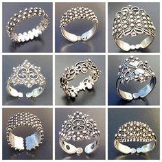 fedi sarde Jewelry Rings, Jewlery, Filigree Ring, Fashion Beauty, Silver Rings, Jewelry Design, Brooch, Stone, My Love