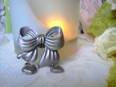 You've got Bowth Our Hearts Vintage Pin by TruleeDarling on Etsy, $10.00