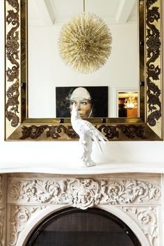Inside the Fashionable Home of MILLY Designer Michelle Smith via @domainehome