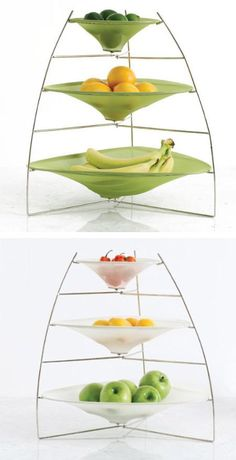 If you are looking for something unique with an unusual twist, here are 15 of the most creative and unusual fruit bowls, perfect for your kitchen or dining room. (fruit bowl, cool bowls)