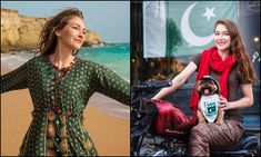 Rosie Gabrielle gets hate for dressing dog in Pakistani flag