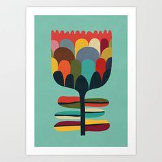 Flower+Poet+Art+Print+by+Budi+Satria+Kwan+-+$19.97