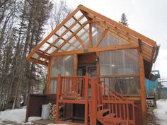 Listing #19-3862, Price: $165,000, Address: 3730 W Lamont Way Wasilla, Beds: 1, Baths: 1, Residential SqFt: 1120 Alaskan Cabins, House Information, Bonus Rooms, Fenced In Yard, Property Search, Open House, Baths, Real Estate, House Styles