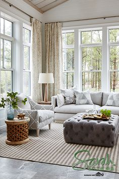 Did you catch the latest episode of @HGTVCanada's Sarah Off the Grid? See how Sarah adds touches of elegance and timeless charm to her living room. The best part? You can shop all of @sarahrdesign's looks by clicking here!