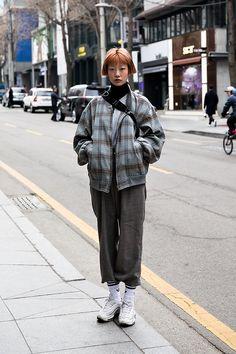 BAG | #NIKE SHOES | #NIKE Ha Hyunjae, Street Fashion 2017 in SEOUL