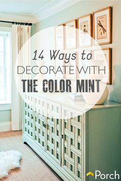 14 Ways To Decorate With The Color Mint