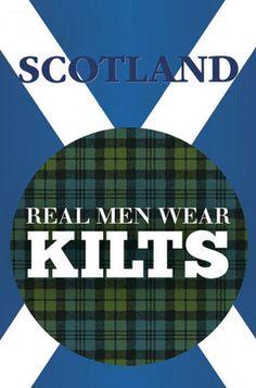 wear a kilt, laddie--it's good for ye! ;-)