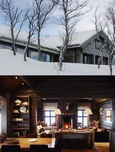Oh to be trapped in a cabin like this.