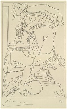 Pablo Picasso - Illustrations For a Limited Edition of Aristophanes' Lysistrata, 1934
