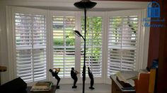 At Shenandoah, we believe there is simple elegance in taking a minimalist approach with our designs and only installing the amount of wood absolutely necessary to provide light control and exceed the customer's appearance expectations. Cafe Shutters, Traditional Shutters, Simple Elegance, Exceed, Bay Window, Blinds, Minimalist, Windows, Wood