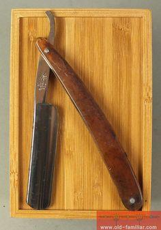 Bleckmann Solingen Rasiermesser ,straight razor, coupe choux,